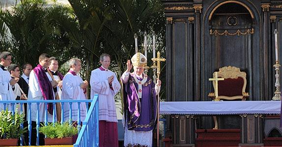Segunda Santa Misa oficiada en Cuba por el Papa Benedicto XVI